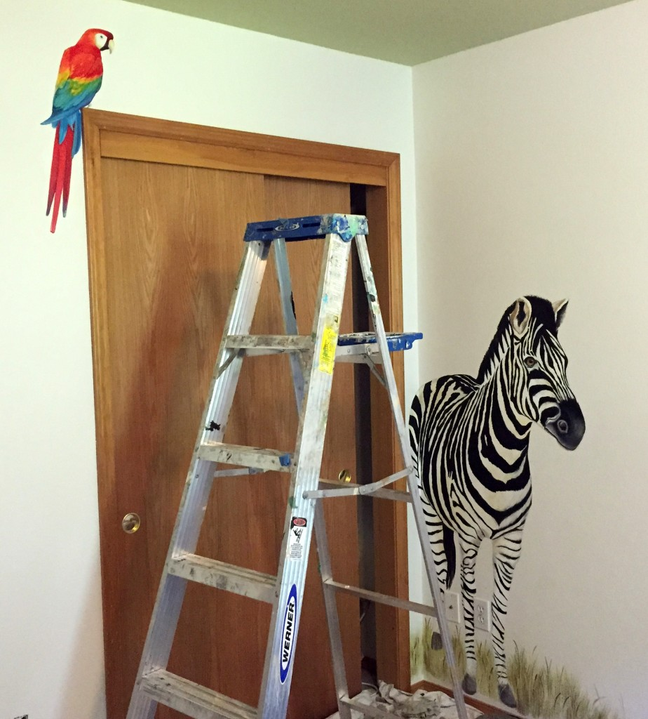 bird and zebra